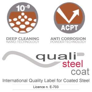 Certificazione QualiSteelCoat VP Verniciatura